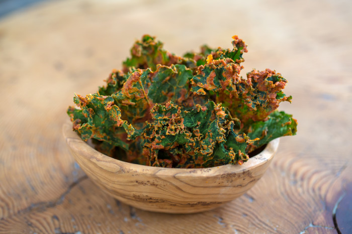 Pizza Kale Chips Recipe