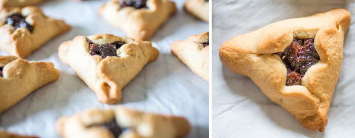 paleo hamantaschen cookies