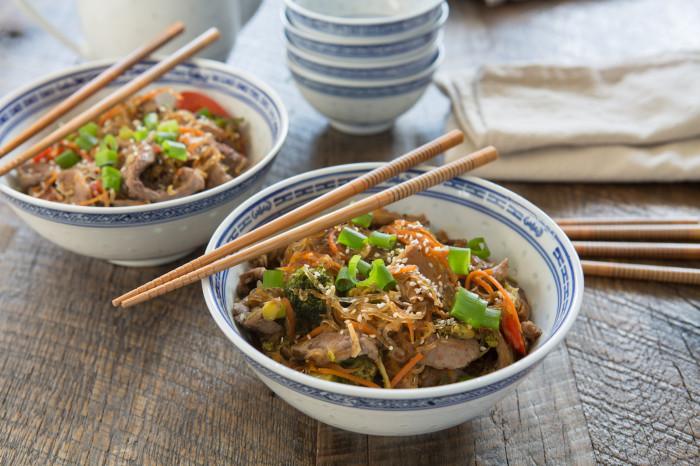 Paleo Korean Beef Stir Fry