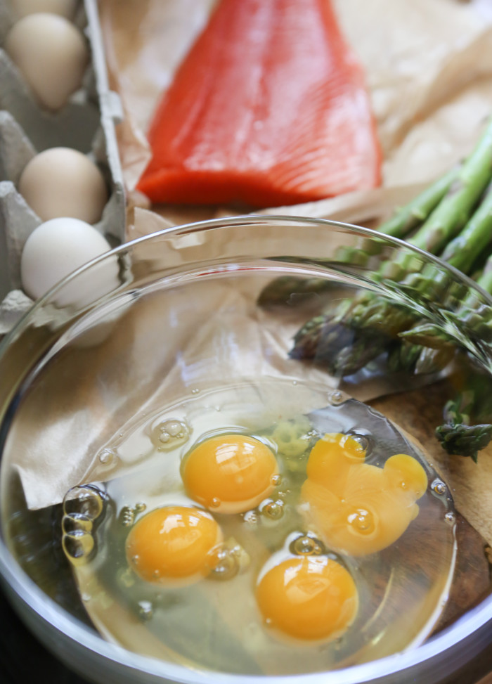 salmon frittata ingredients