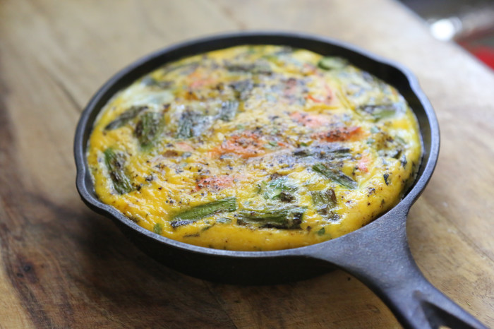 OMG That's Paleo? – Grilled Salmon and Asparagus Frittata - Primal ...