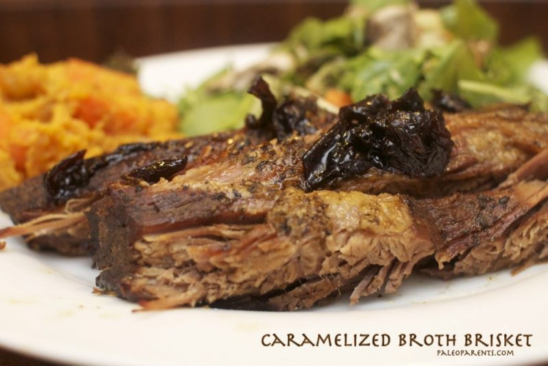 Caramelized Broth Brisket (with Beef Jam) Recipe