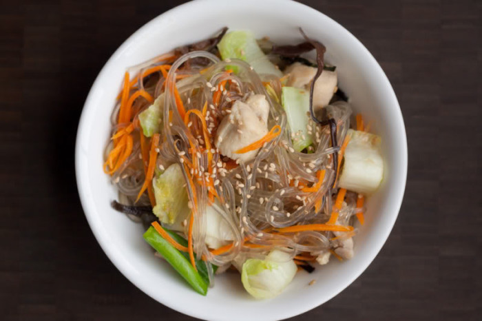 Chicken Long Rice Japchae Recipe
