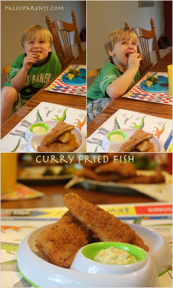 Curry Fried Fish Recipe