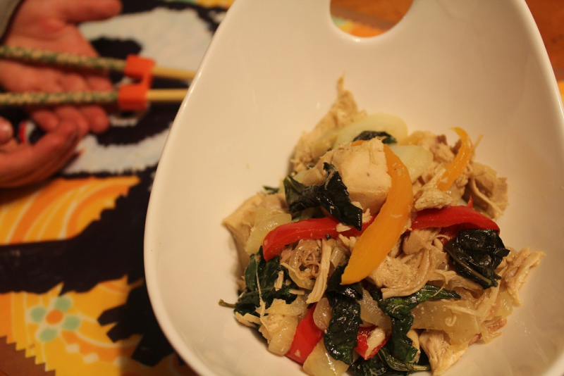 Turkey Thai Basil Recipe