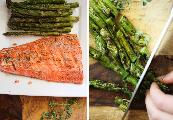 Paleo? – Grilled Salmon and Asparagus Frittata - Primal Palate