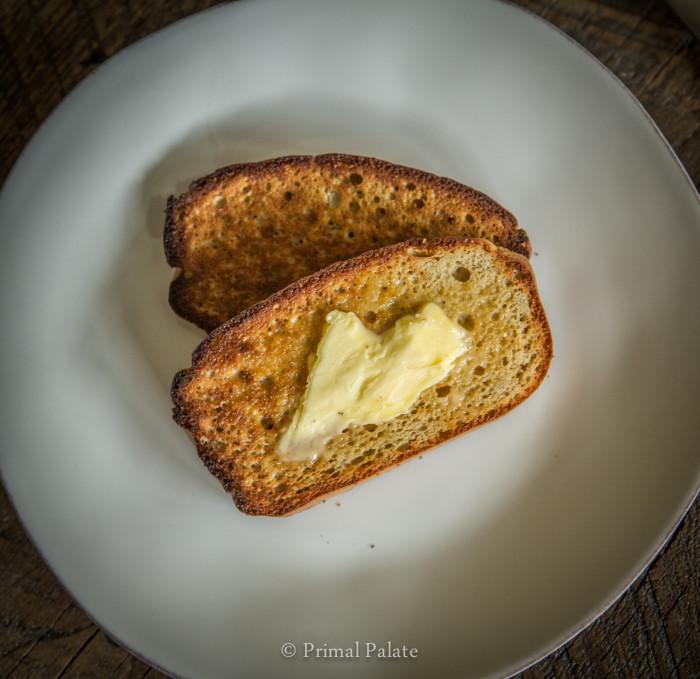 Paleo Bread for Toast