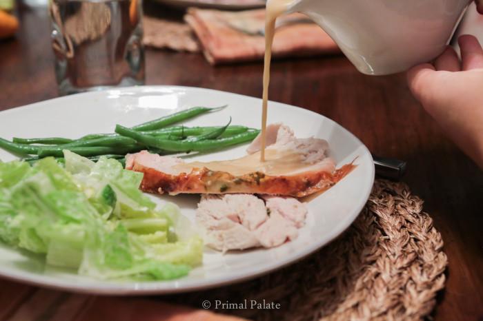 paleo thanksgiving gravy