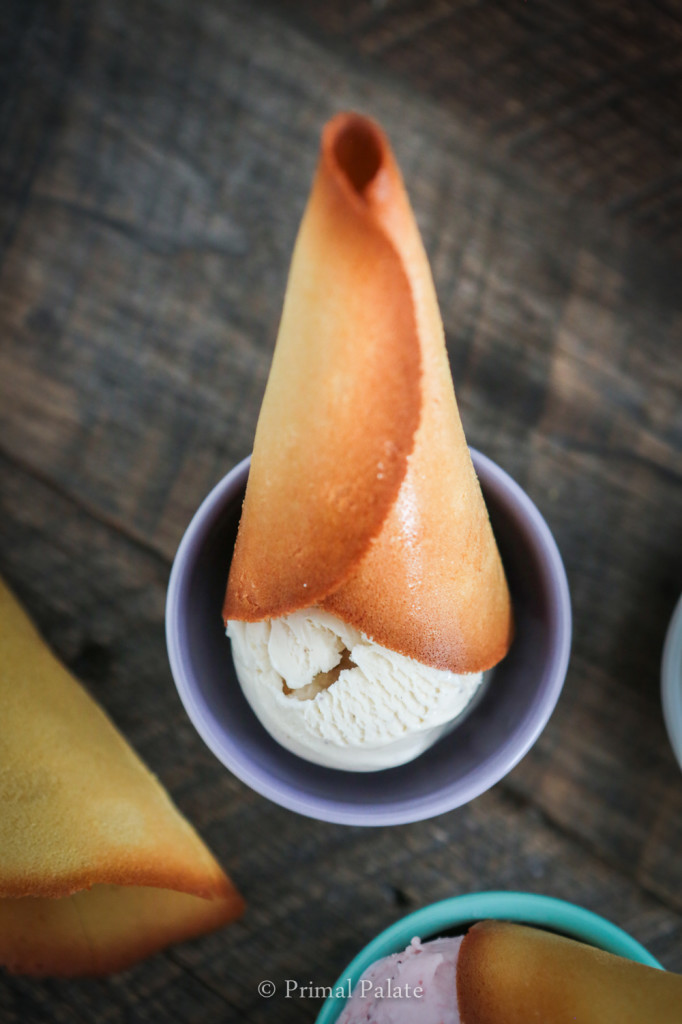 paleo ice cream cone
