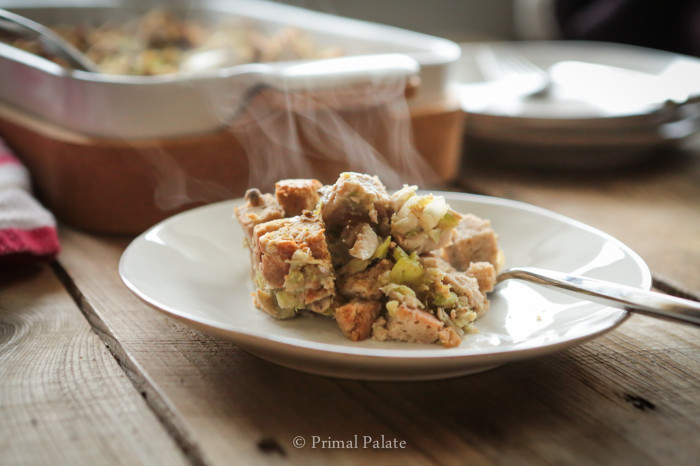 The Best Ever Grain-Free Bread Stuffing Recipe