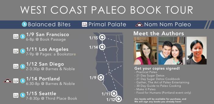 paleo book tour