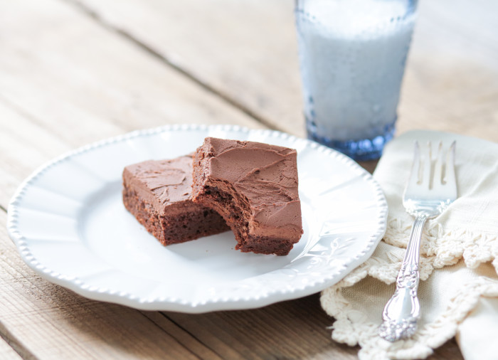 Paleo friendly brownies