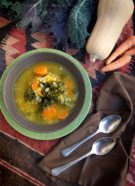 Farmers Market Winter Soup Recipe