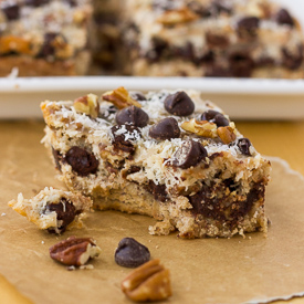 Grain-Free Magic Cookie Bars Recipe
