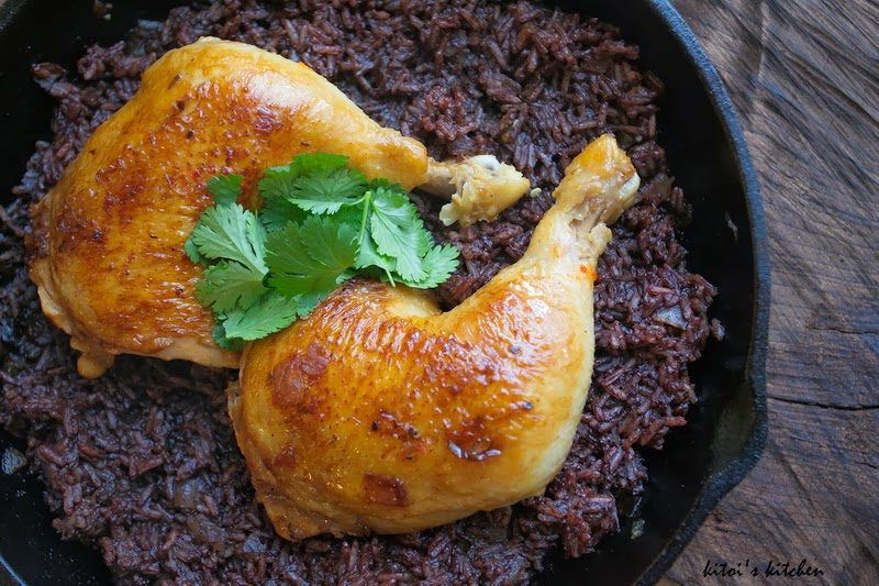 Cabidela: Braised Chicken with Blood Rice Recipe