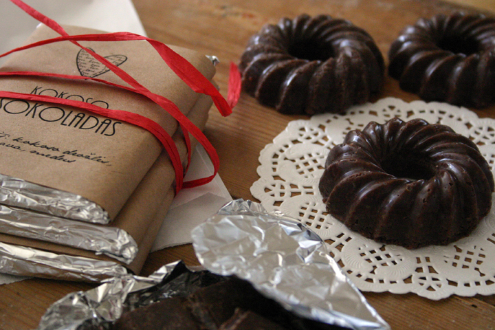 Coconut chocolate Recipe