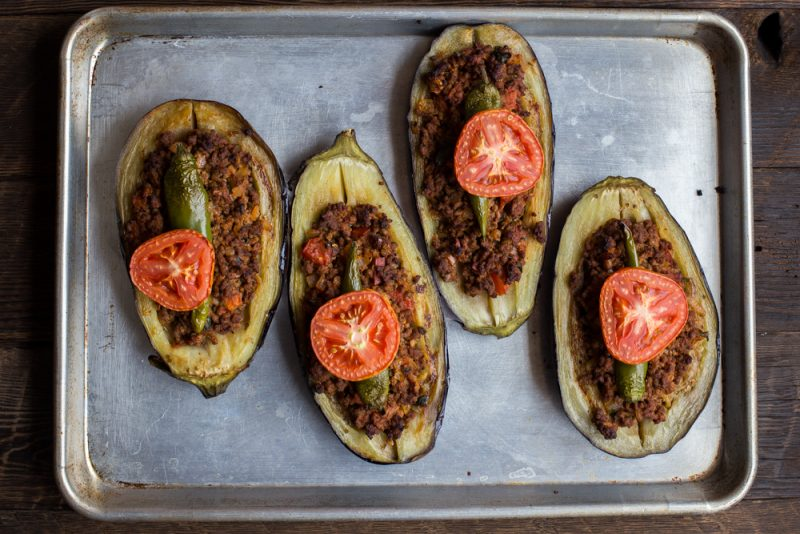 Karniyarik (Turkish Stuffed Eggplant) Recipe