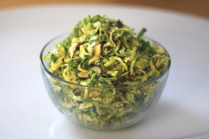 Brussels Sprout Salad Recipe