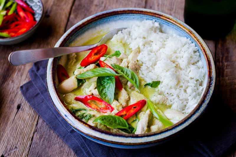 Thai Green Curry with Chicken Recipe