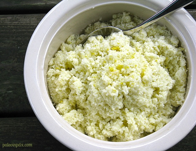 Fluffy Lemon Cauliflower Rice Recipe