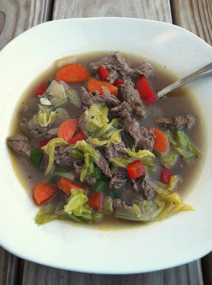 Steak Stir-Fry Soup Recipe