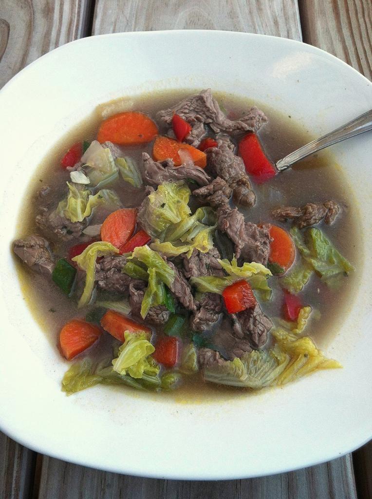 Steak Stir-Fry Soup Recipe