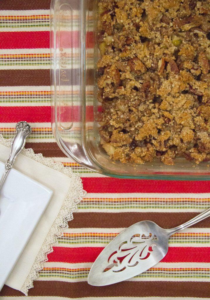 Grain-Free Apple Pecan Breakfast Bake Recipe