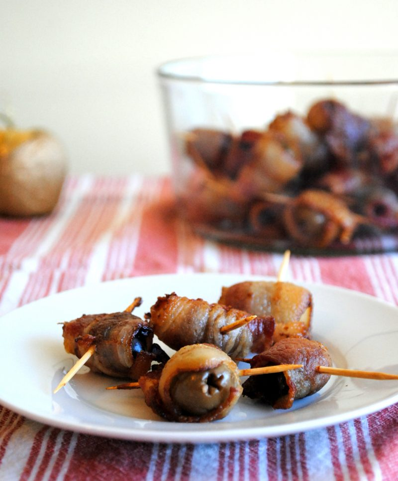 Bacon Wrapped Olives Recipe