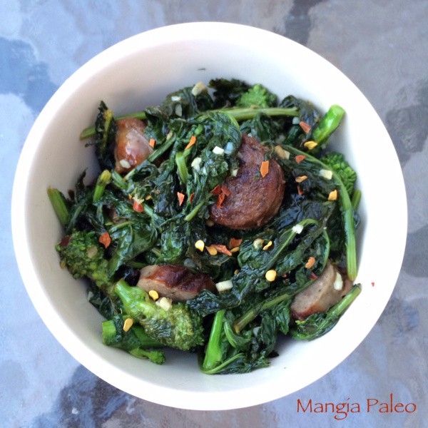 Broccoli Rabe and Italian Sausage Recipe
