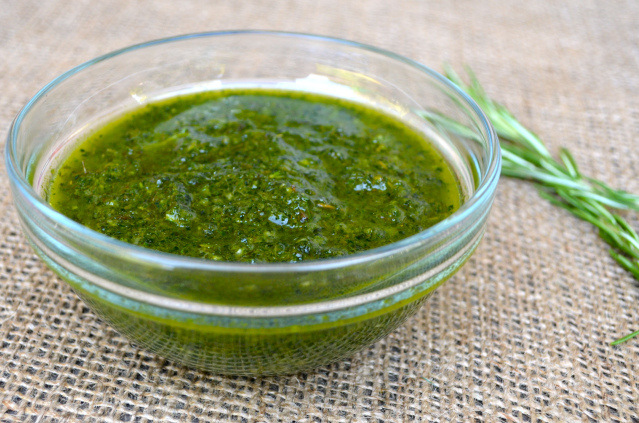 Dinosaur Kale Herb Sauce Recipe