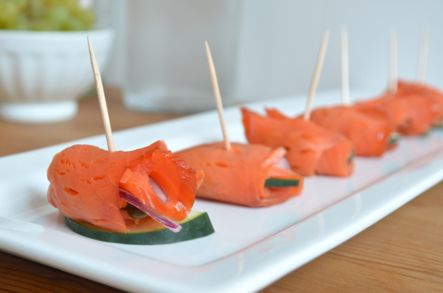 Smoked Salmon Hors d'Oeuvres Recipe