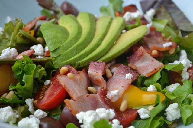 Bombtastic Bacon Salad Recipe