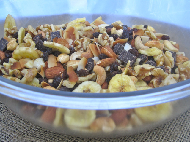 Chunky Monkey Trail Mix Recipe