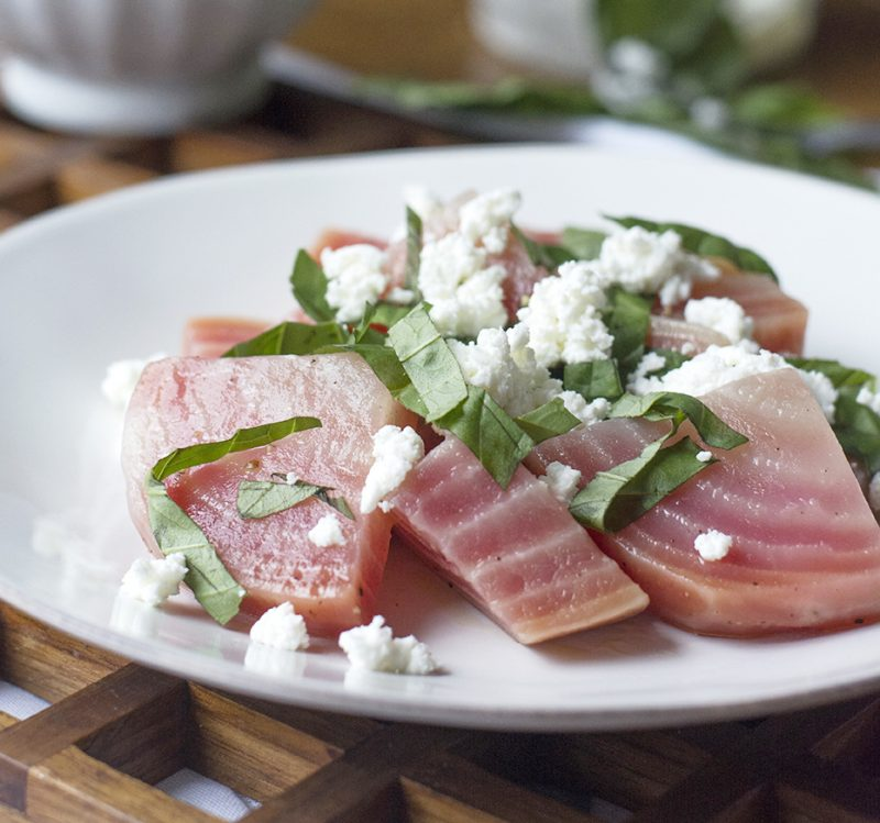 Beet, Basil & Goat Cheese Salad Recipe