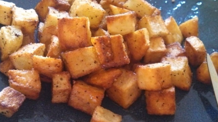 Duck Fat Home Fries Recipe