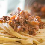 paleo pasta bolognese