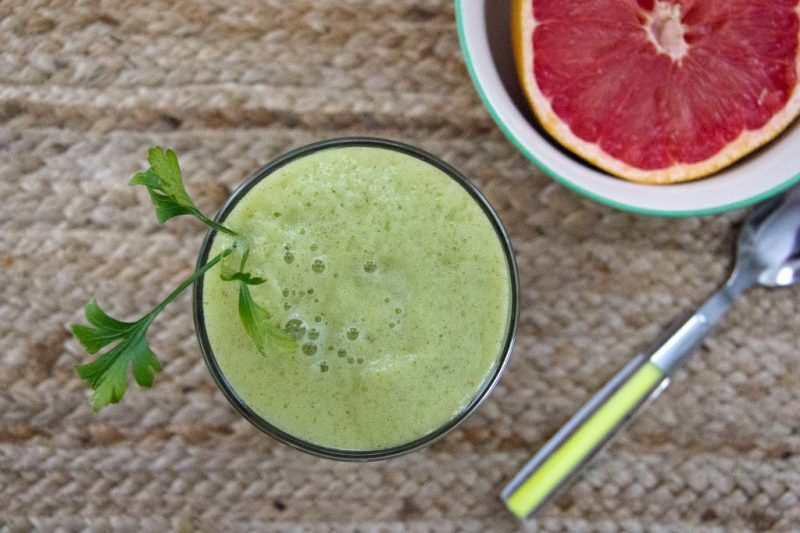 Pear and Parsley Immune Booster Recipe