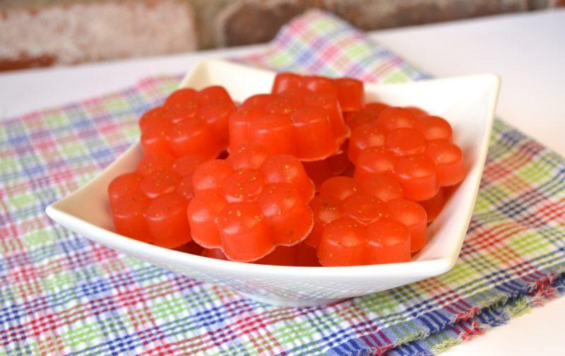 Sour Strawberry Gummies Recipe