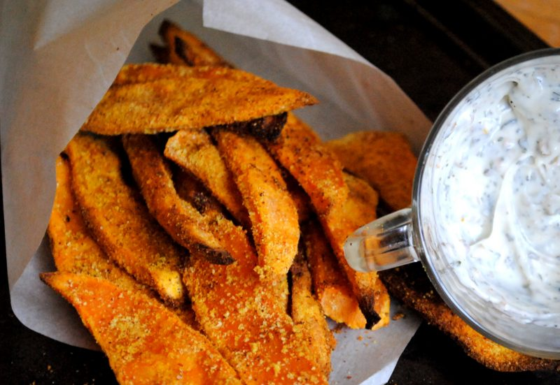 Indian Style Sweet Potato Fries Recipe