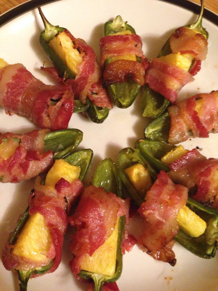 Jalapeño Pineapple Poppers Recipe