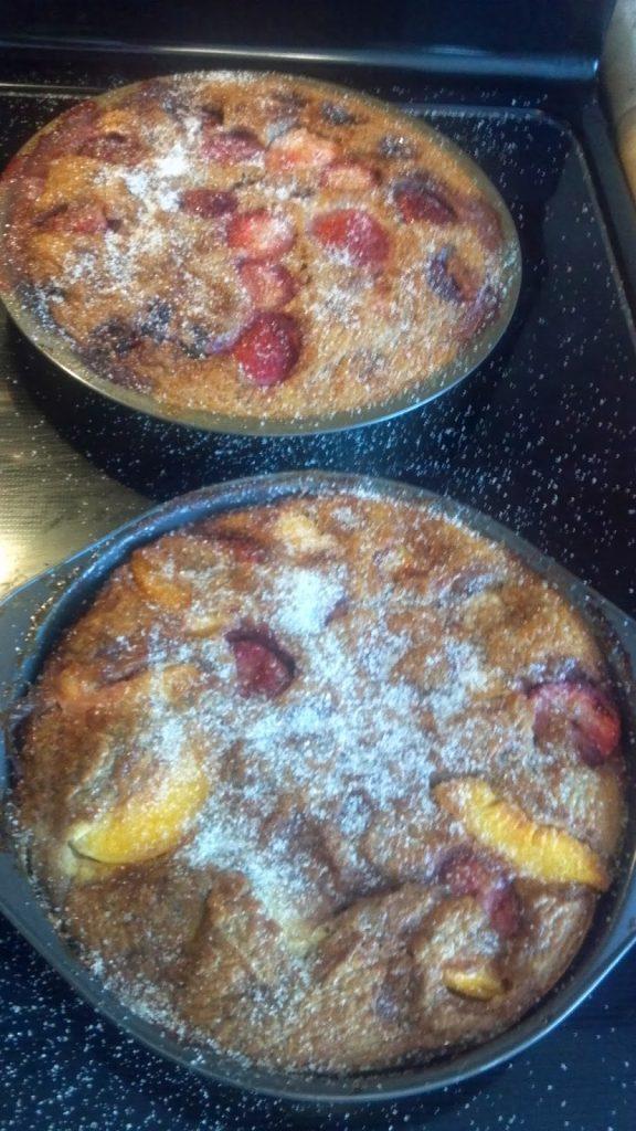 Fruity Breakfast Flaugnarde Recipe
