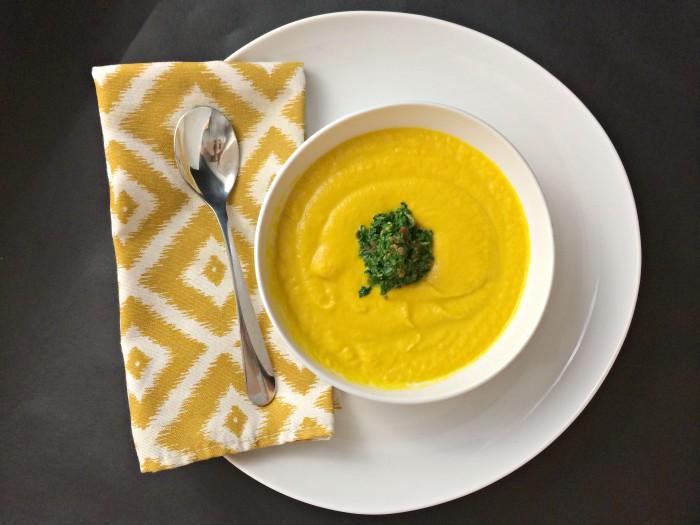 AIP saffron carrot soup