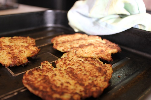 Cauliflower Hash Browns Recipe