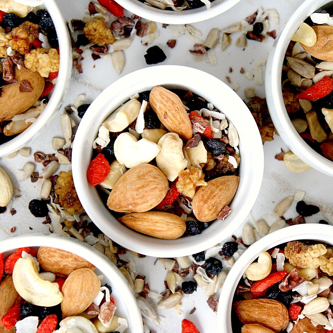Superfood Nut and Seed Snack Mix Recipe