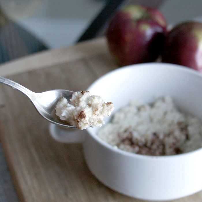 Apple Cinnamon Noatmeal Recipe