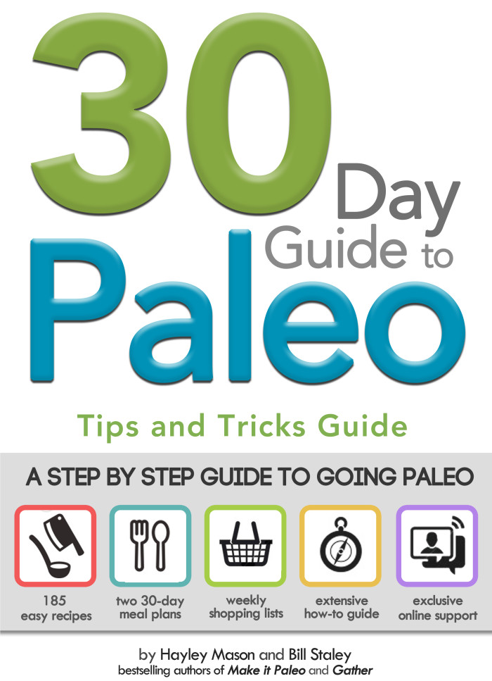 30 Day Guide to Paleo - Tips and Tricks Cover
