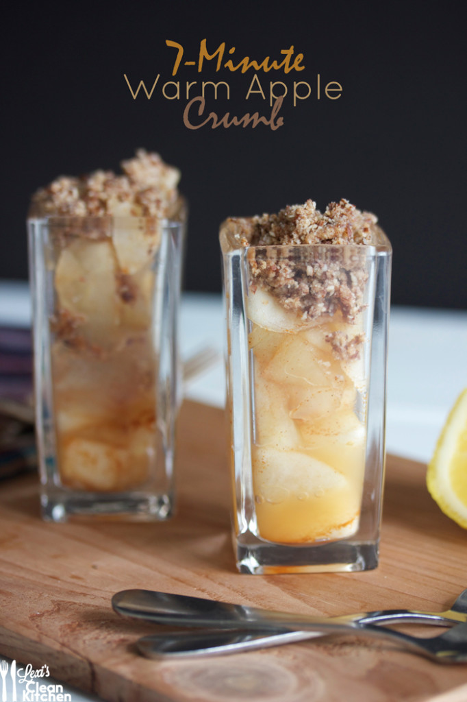 7-Minute Warm Apple Crumb Minis Recipe