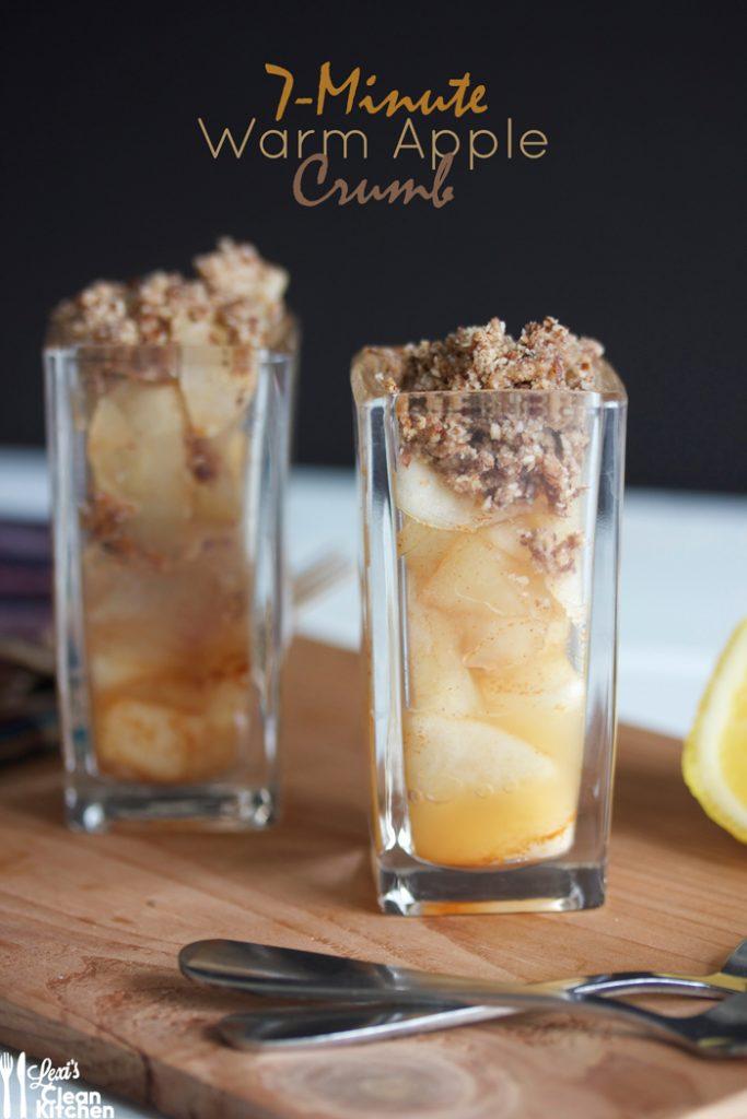 7-Minute Warm Apple Crumb Minis Recipe