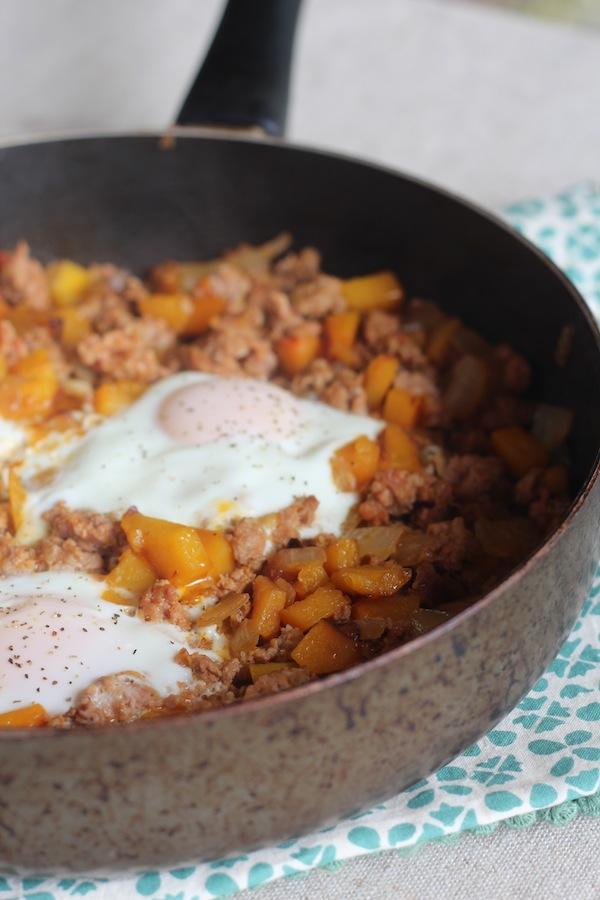 Simple Chorizo Butternut Squash Hash Recipe