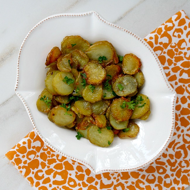Garlic and Shallot Fingerling Potatoes Recipe